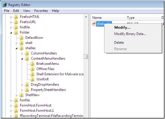 Gewusst wie: Entfernen von Anwendungen aus dem Windows-Kontextmenü - Bild 4 - Prof.-falken.com