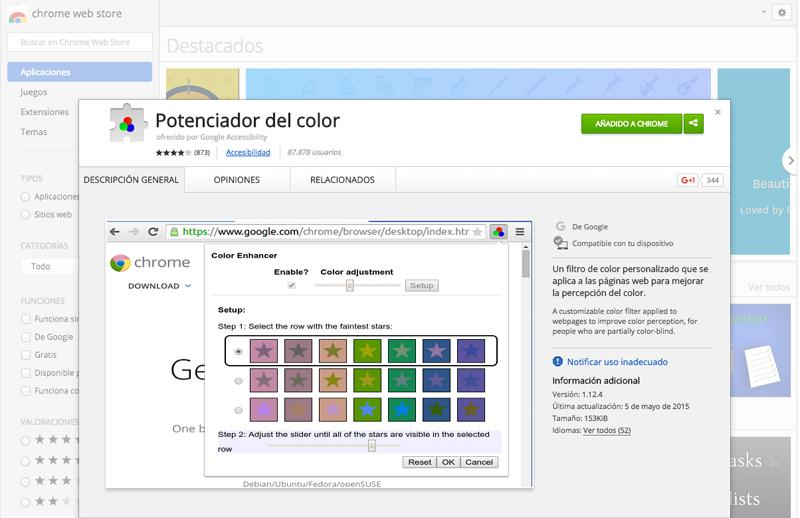 Eine Erweiterung für Chrome, die blinde Benutzern hilft finden Sie im web - Bild 1 - Prof.-falken.com
