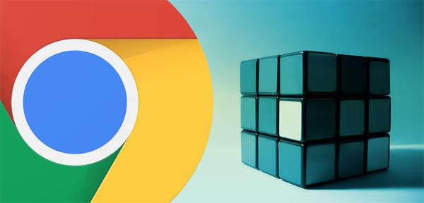 Eine Erweiterung für Chrome, die blinde Benutzern hilft finden Sie im web