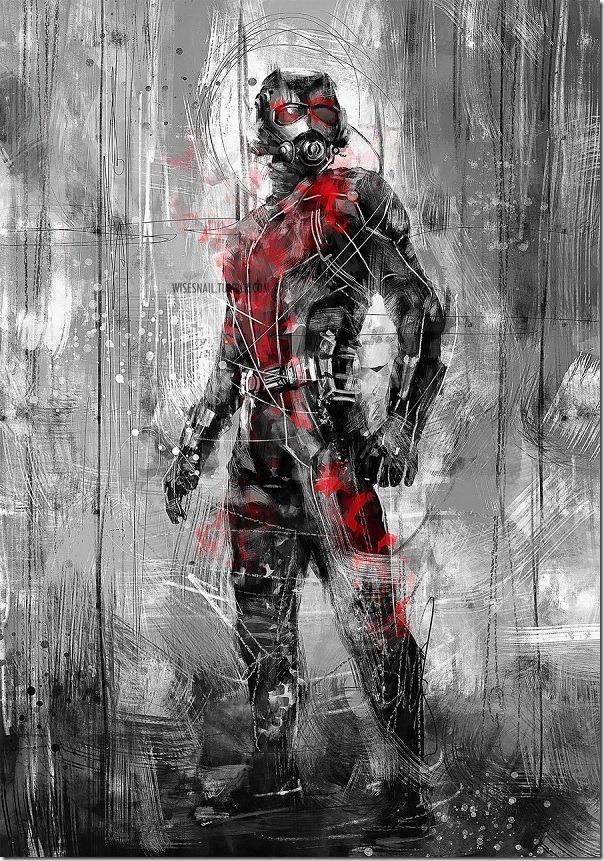 10 большие обои другого супергероев Marvel, Человек муравей - Изображение 1 - Профессор falken.com