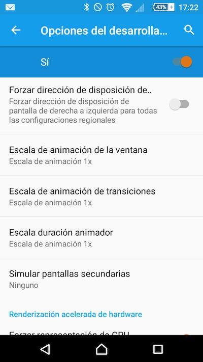 कैसे अपने Android मोबाइल फ़ोन पर मेनू और स्क्रीन में एनिमेशन में तेजी लाने के लिए - छवि 2 - प्रोफेसर-falken.com