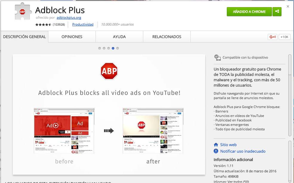 कष्टप्रद विज्ञापनों को ब्लॉक करने के लिए कैसे क्रोम में दखल इंटरनेट - छवि 2 - प्रोफेसर-falken.com
