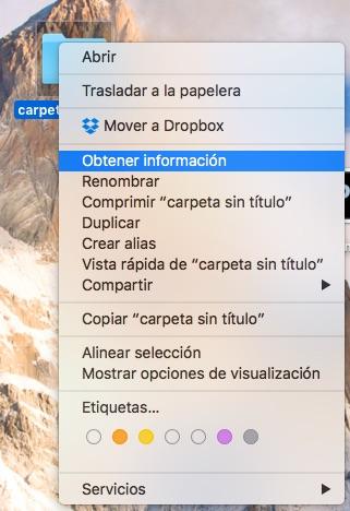 Comment changer l'icône d'un fichier ou un dossier sur votre Mac - Image 3 - Professor-falken.com