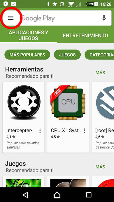 Wie man einen Promotion-Code in Google Spiel Store einlösen - Bild 1 - Prof.-falken.com