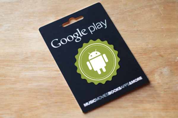 Comment échanger un code promotionnel en magasin de jeu de Google