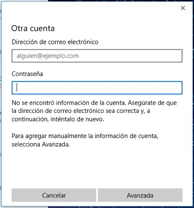 Come configurare o aggiungere account di posta elettronica di Outlook su Windows 10 - Immagine 7 - Professor-falken.com