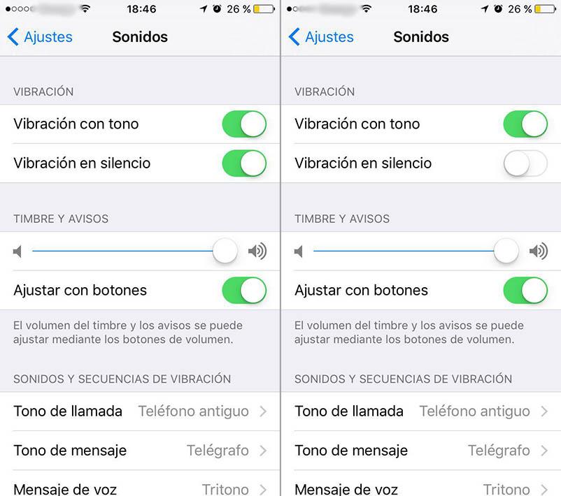 Cómo desactivar la vibración de tu iPhone cuando está en modo silencio - Image 2 - professor-falken.com