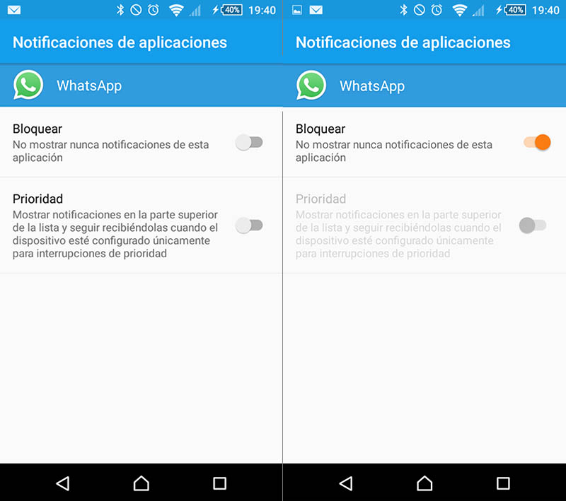 Comment faire pour désactiver les notifications de partir d'une application sur Android - Image 3 - Professor-falken.com