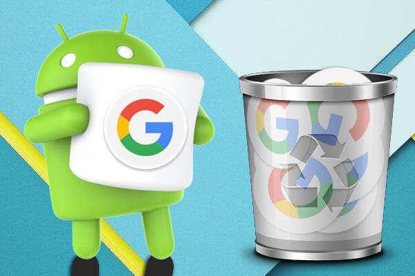 Как удалить ваш недавних поисков на Google на вашем Android телефоне