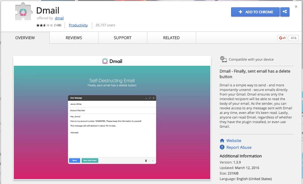 Как послать emails что самоуничтожения с GMail - Изображение 1 - Профессор falken.com.jpg