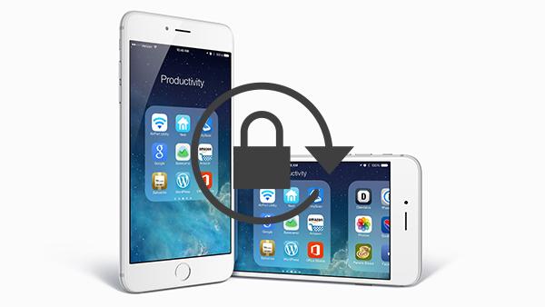 Come evitare la rotazione dello schermo del vostro iPhone