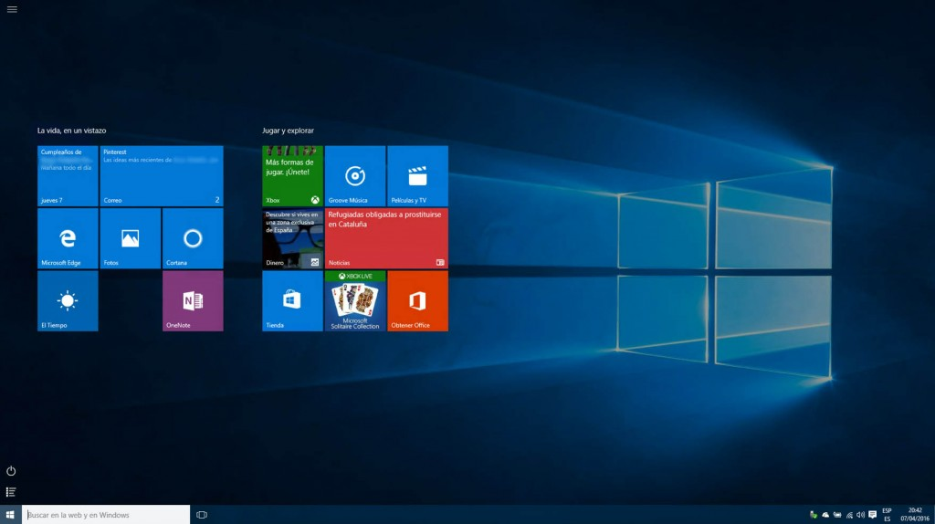 Como usar a interface de volta Windows Metro 8 em Windows 10 - Imagem 4 - Professor-falken.com