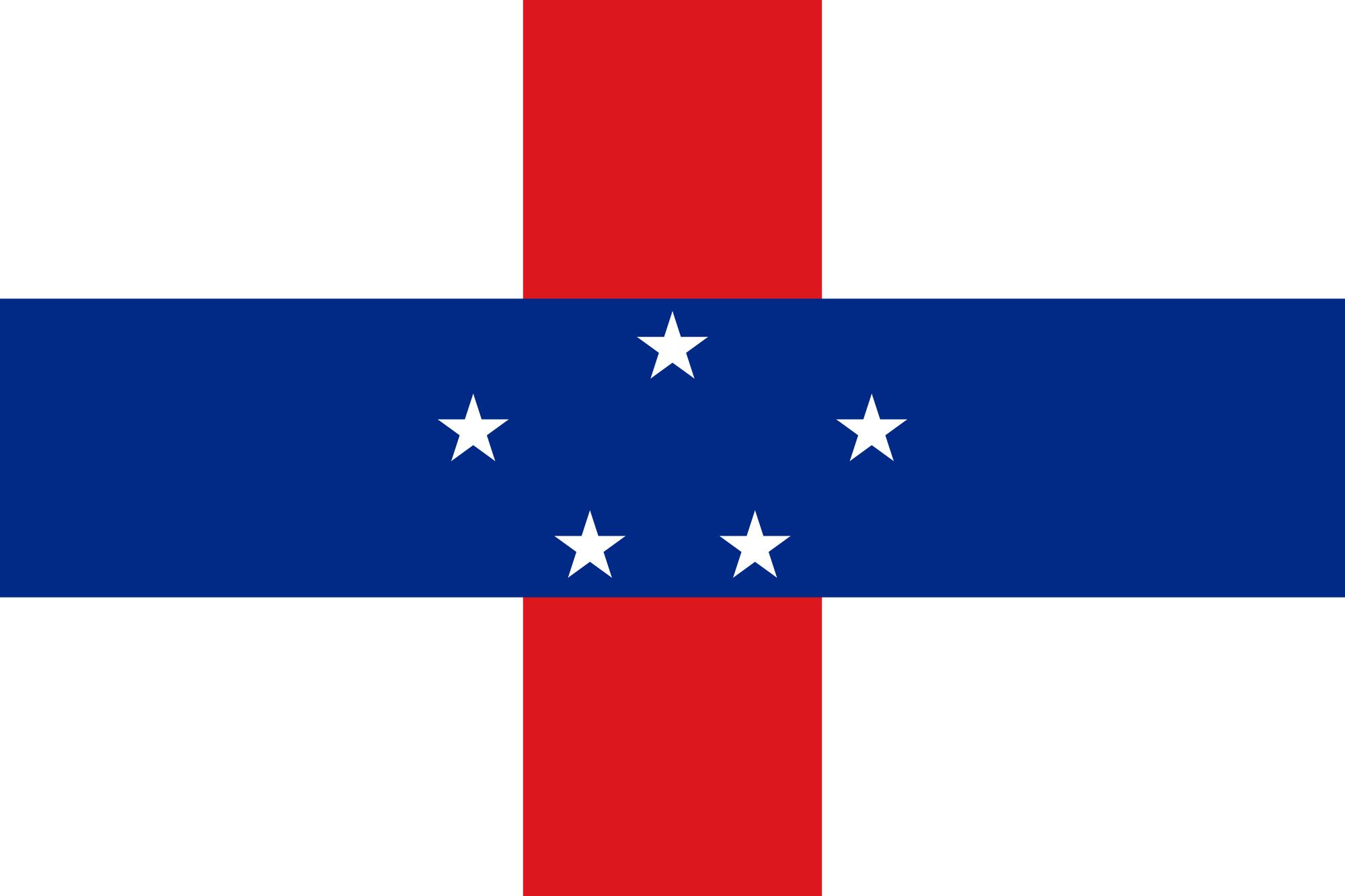 Antilhas Holandesas, país, Brasão de armas, logotipo, símbolo - Papéis de parede HD - Professor-falken.com