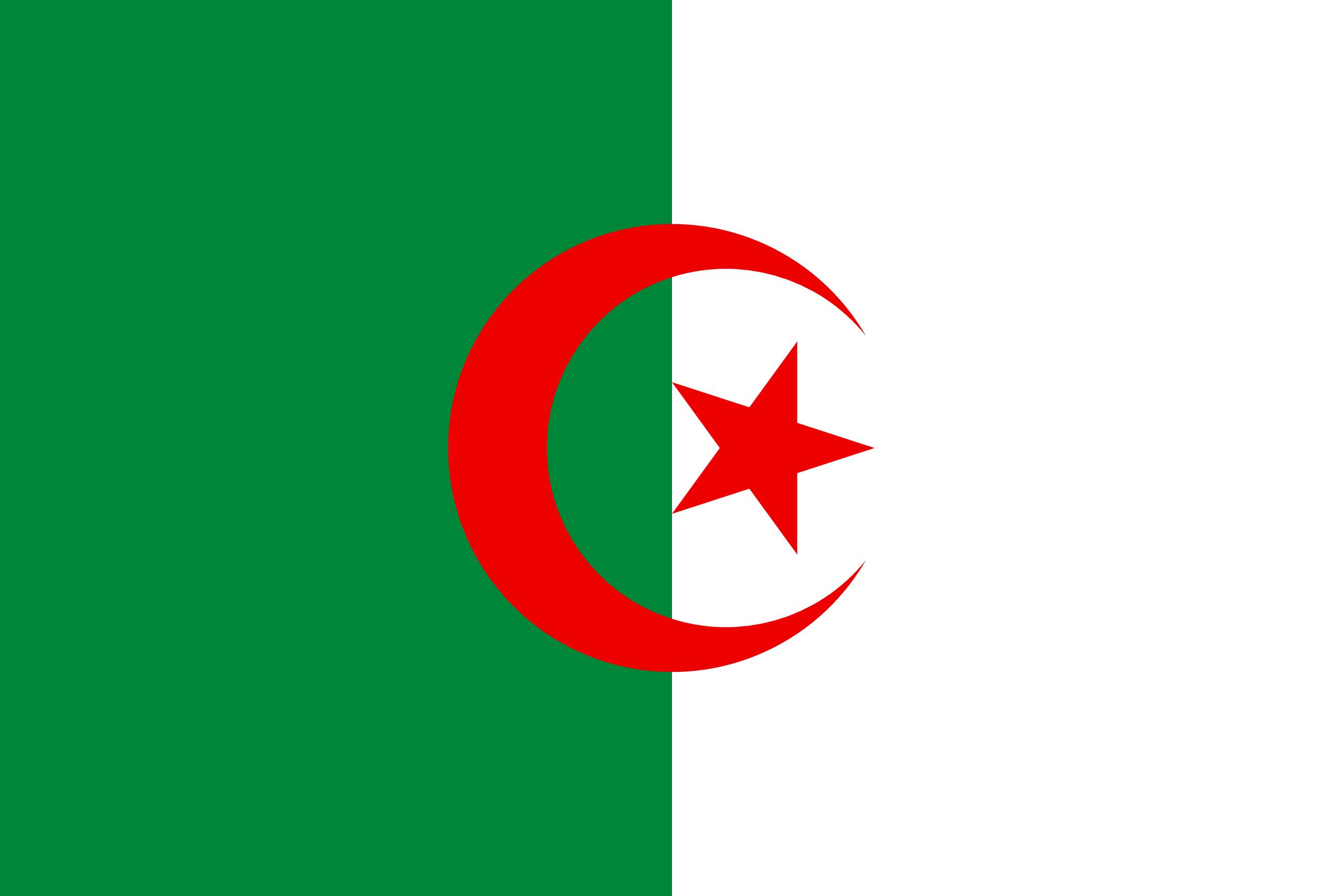 Argélia, país, Brasão de armas, logotipo, símbolo - Papéis de parede HD - Professor-falken.com