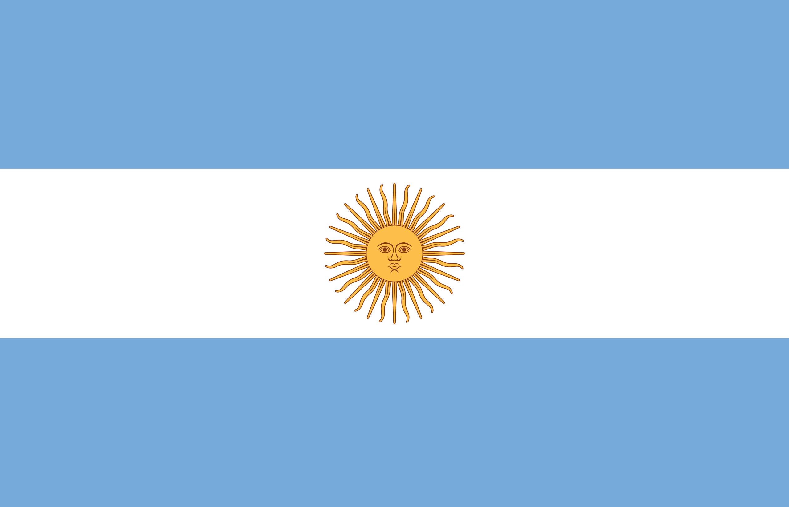 Argentina, paese, emblema, logo, simbolo - Sfondi HD - Professor-falken.com