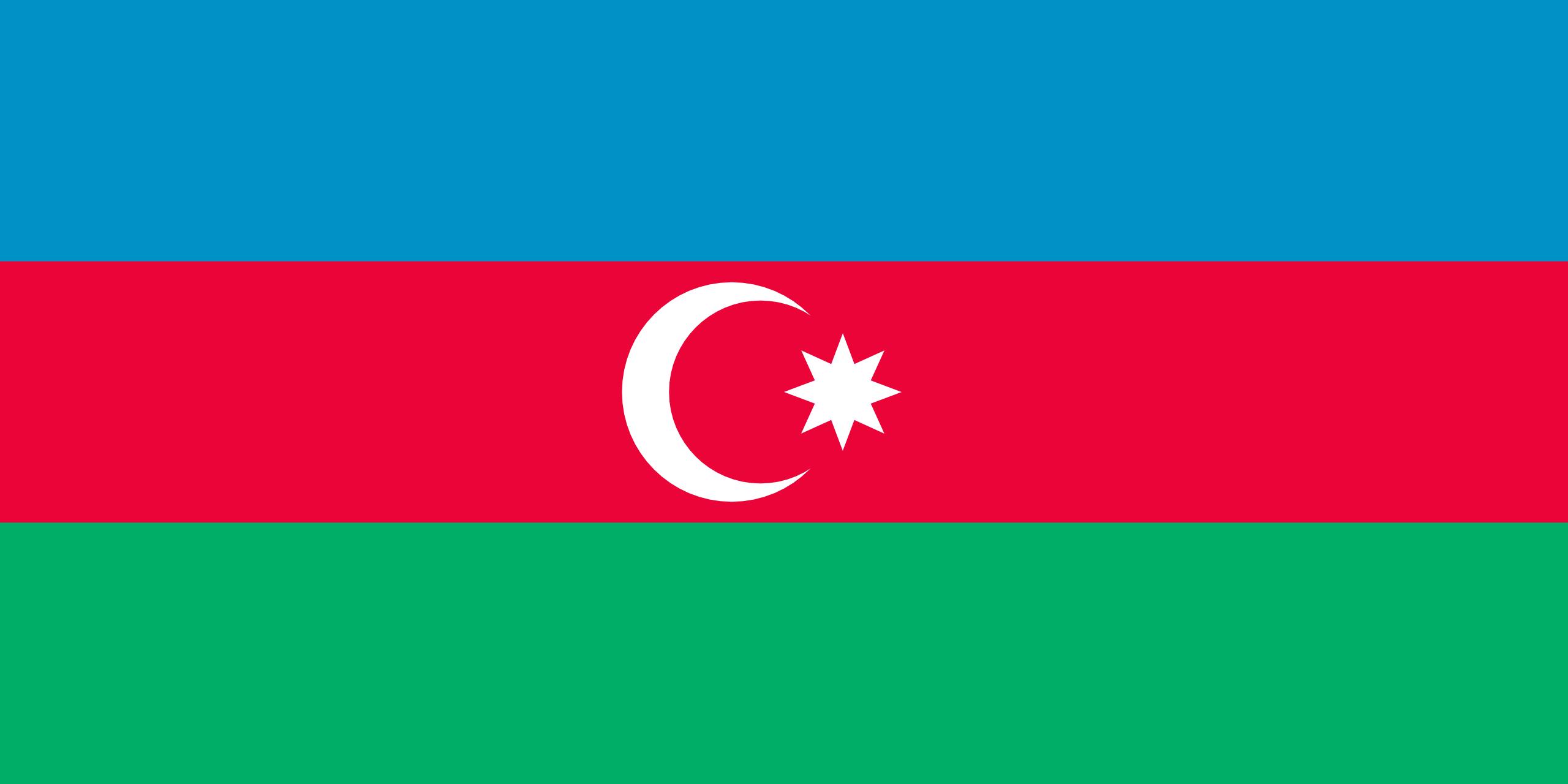 Aserbaidschan, Land, Emblem, Logo, Symbol - Wallpaper HD - Prof.-falken.com