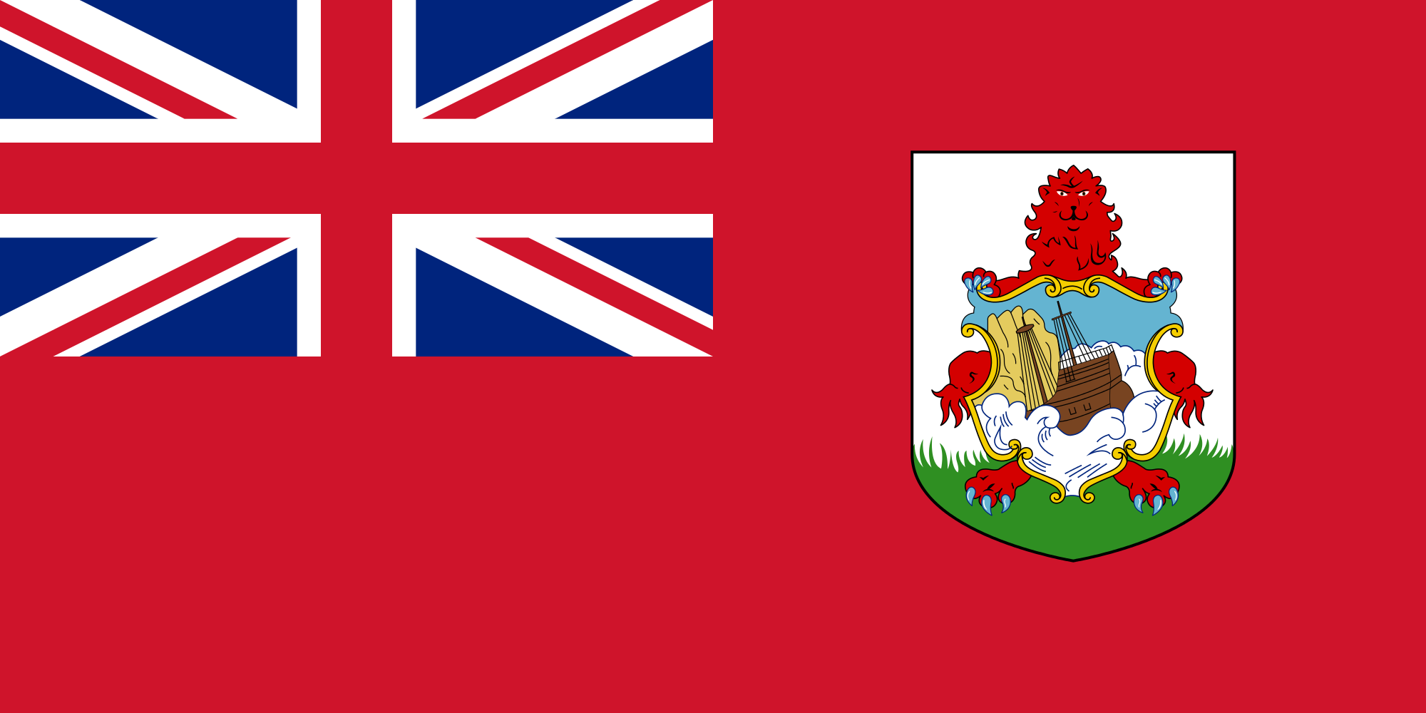 Bermudes, pays, emblème, logo, symbole - Fonds d'écran HD - Professor-falken.com