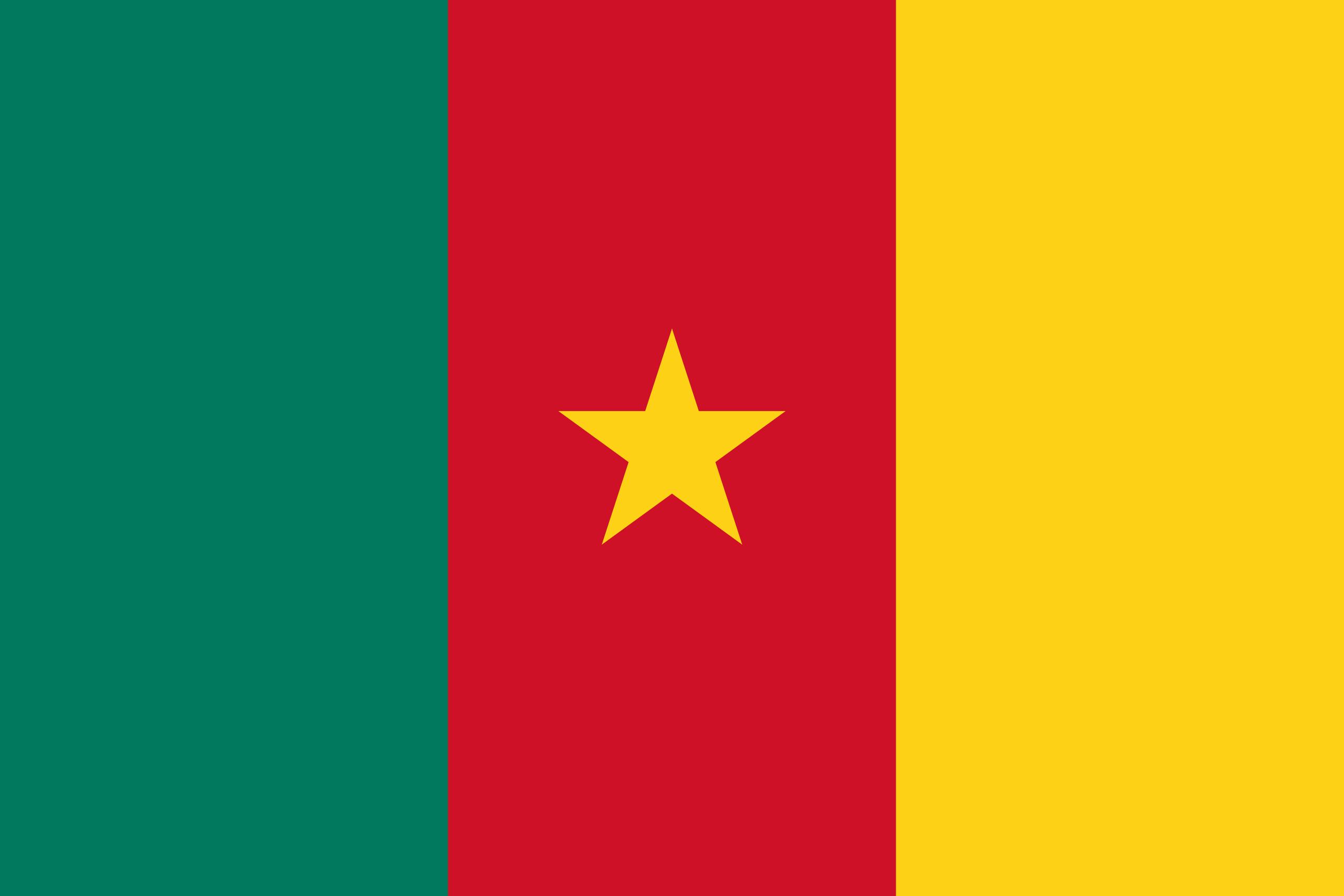 República dos Camarões, país, Brasão de armas, logotipo, símbolo - Papéis de parede HD - Professor-falken.com
