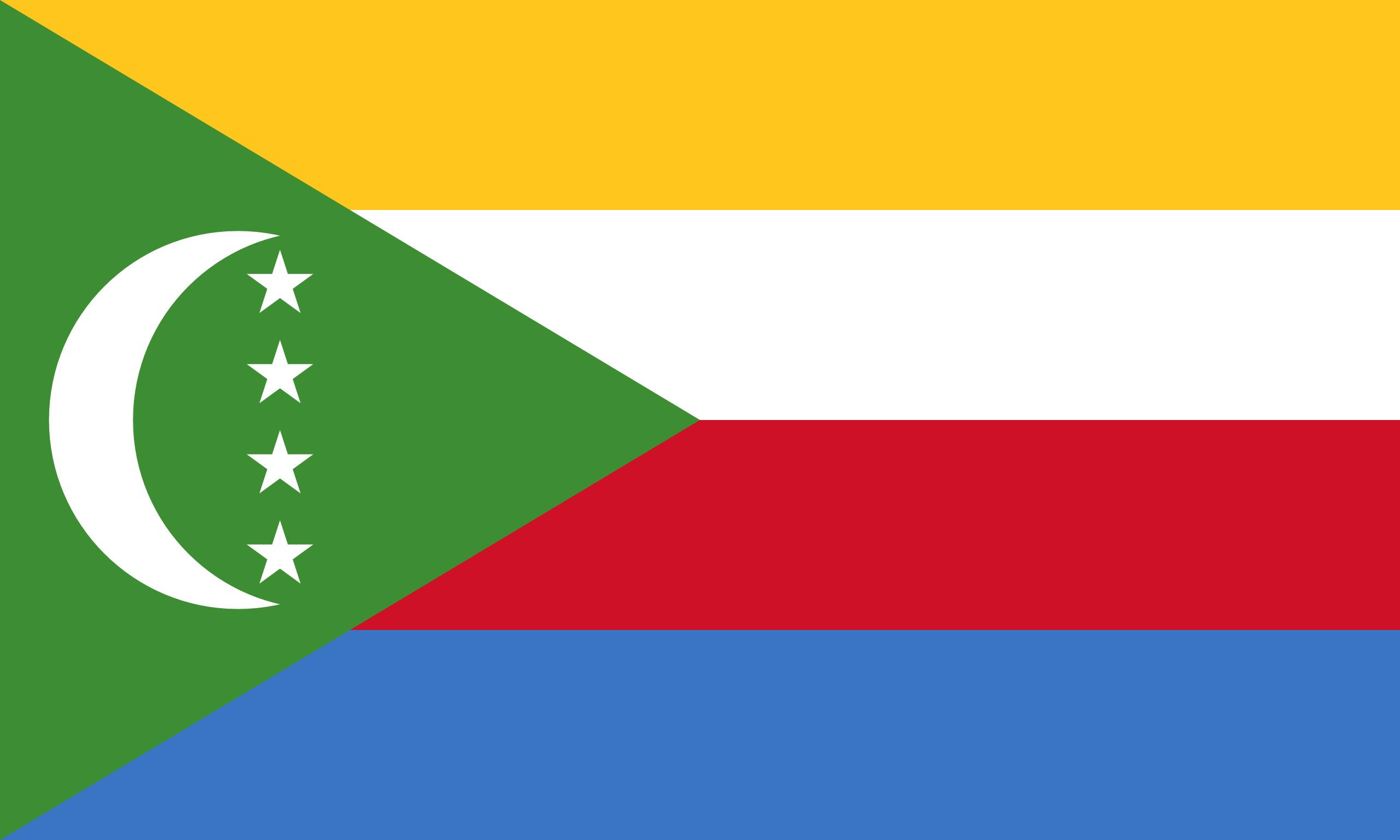 Comores, país, Brasão de armas, logotipo, símbolo - Papéis de parede HD - Professor-falken.com