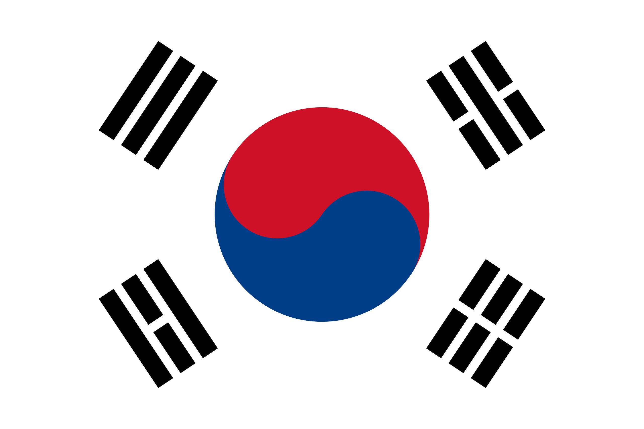 Coreia do Sul, país, Brasão de armas, logotipo, símbolo - Papéis de parede HD - Professor-falken.com