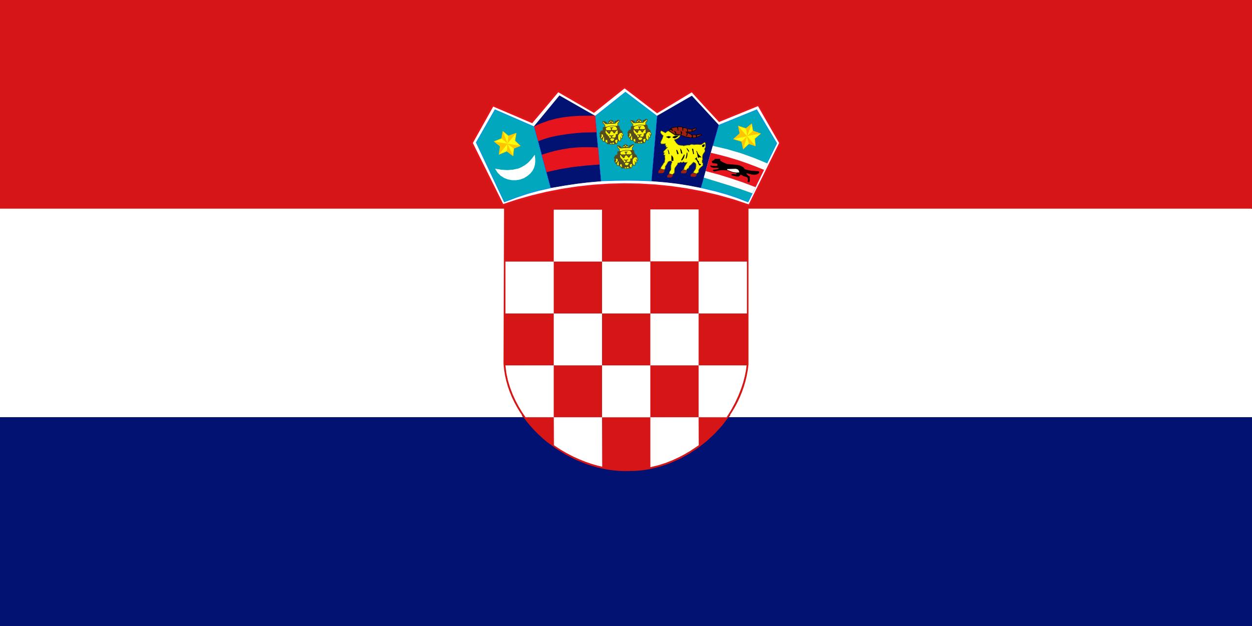 Croácia, país, Brasão de armas, logotipo, símbolo - Papéis de parede HD - Professor-falken.com