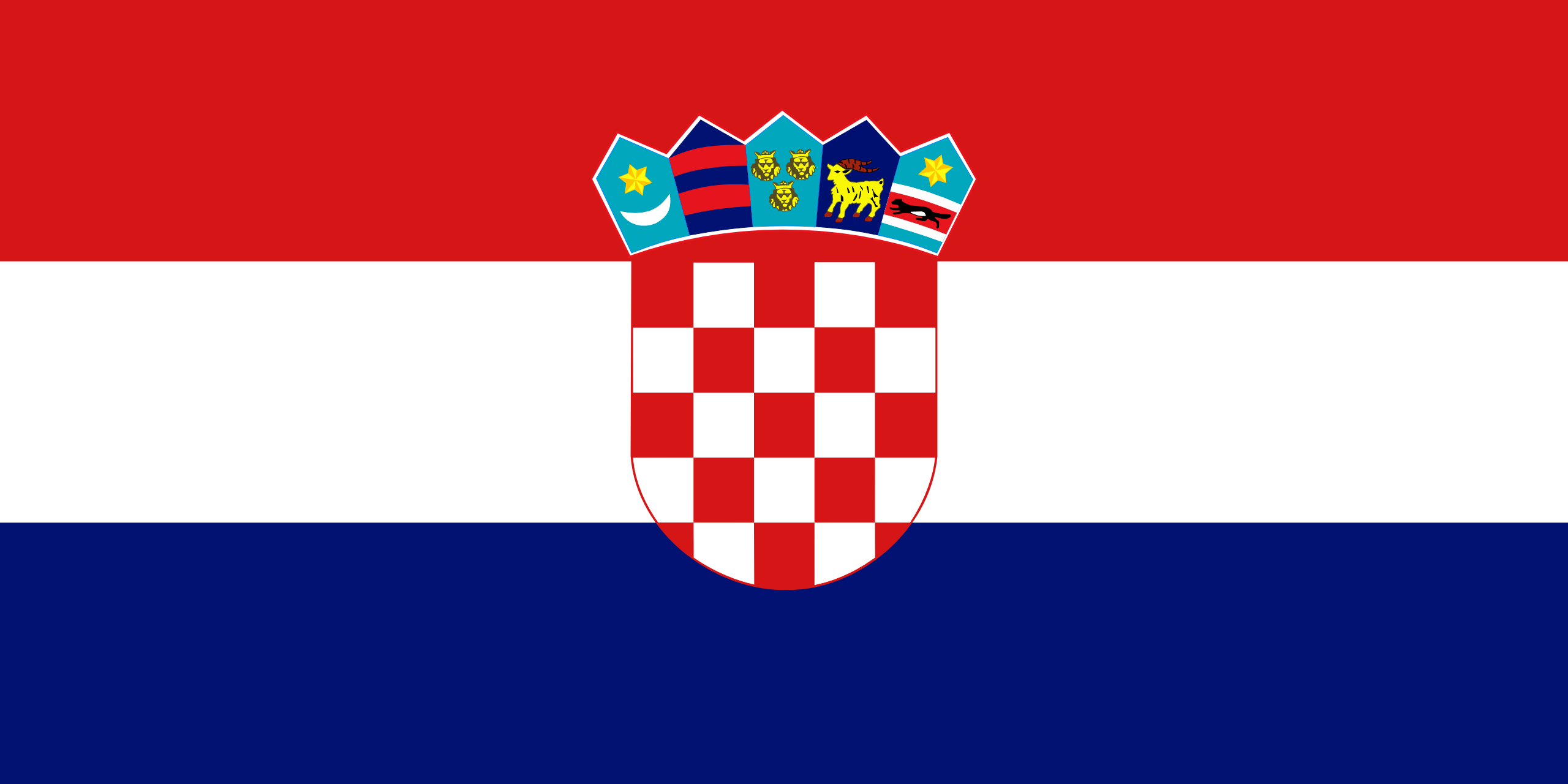 Kroatien, Land, Emblem, Logo, Symbol - Wallpaper HD - Prof.-falken.com
