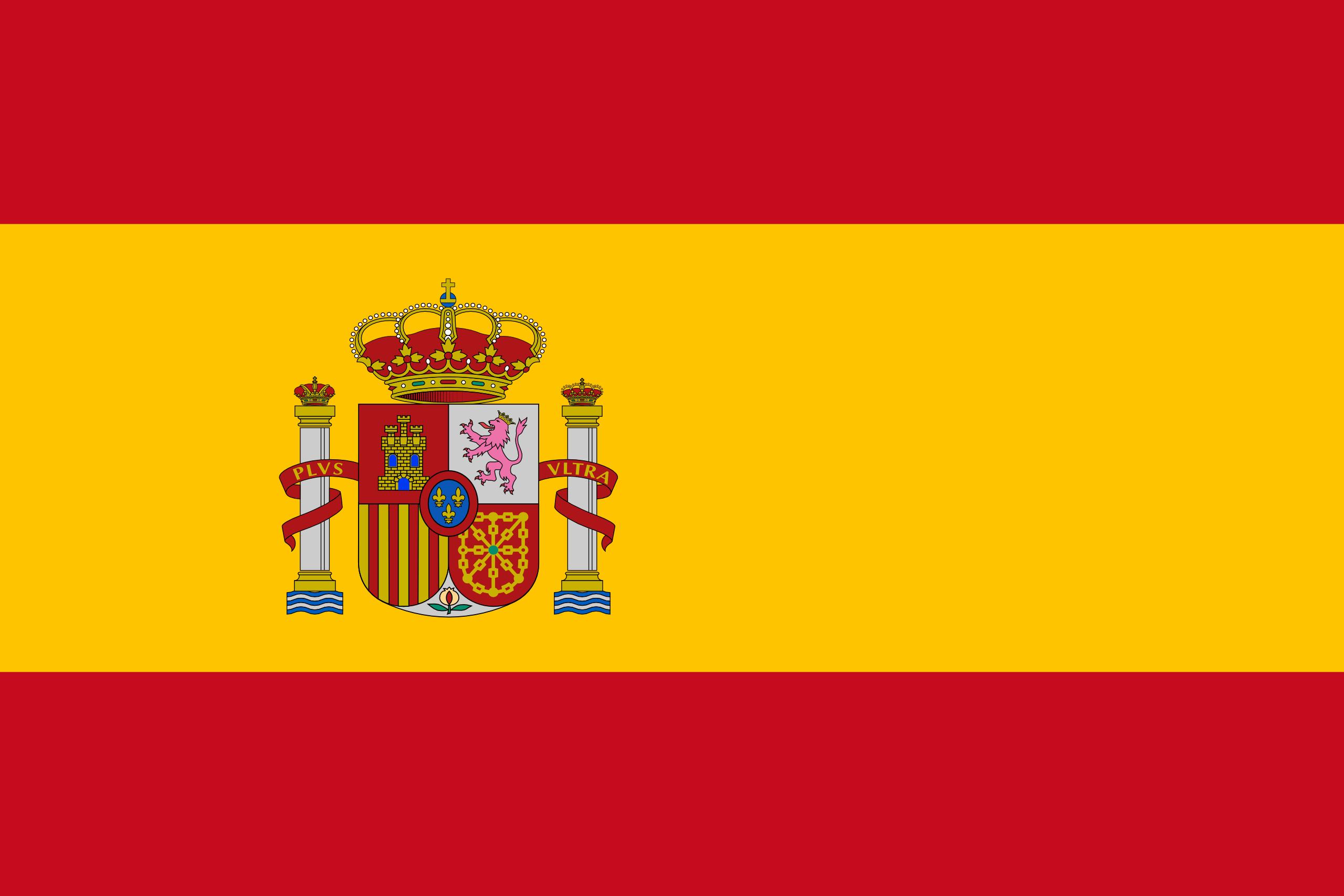 Spagna, paese, emblema, logo, simbolo - Sfondi HD - Professor-falken.com