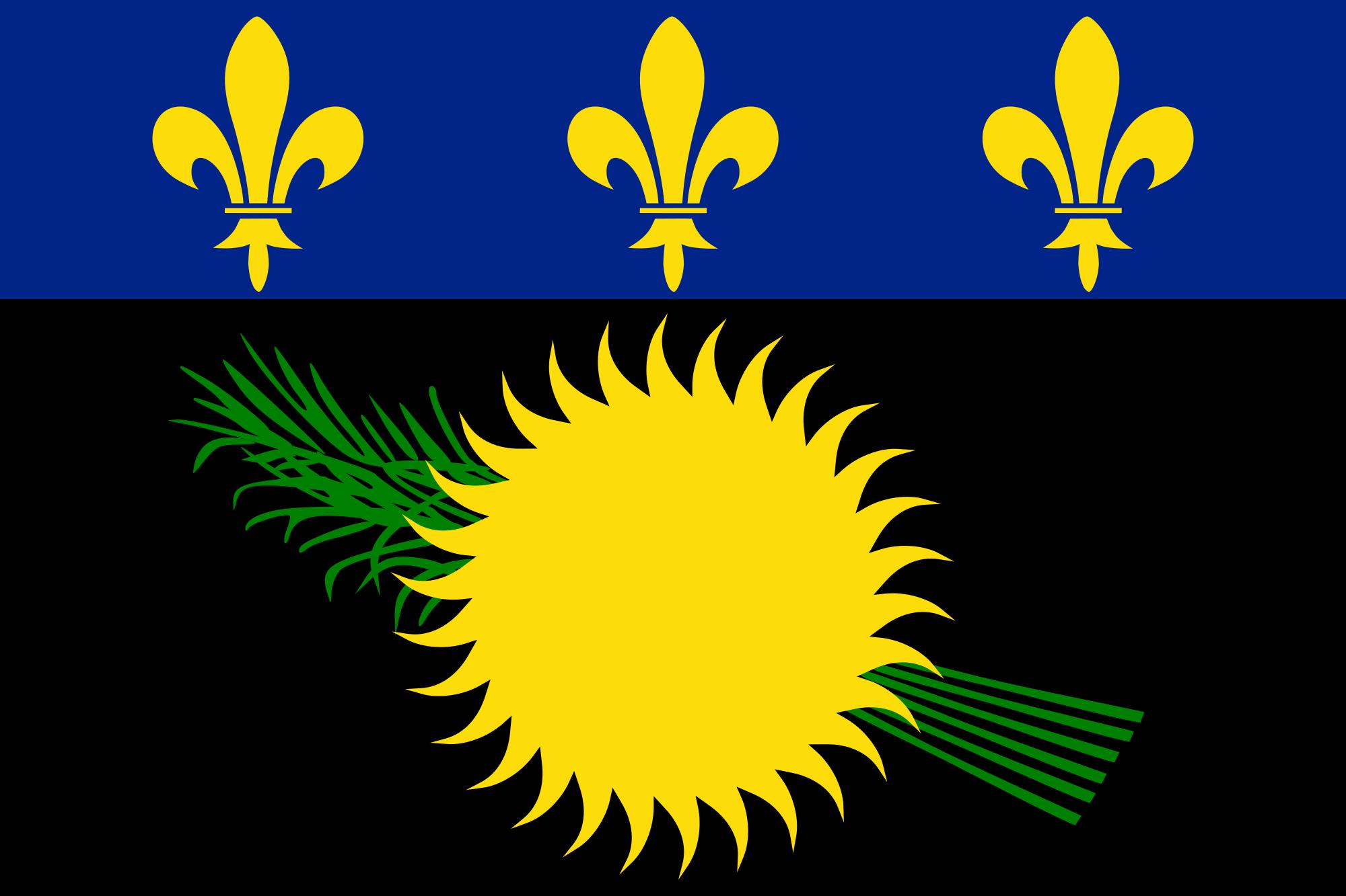 Guadalupe, pays, emblème, logo, symbole - Fonds d'écran HD - Professor-falken.com