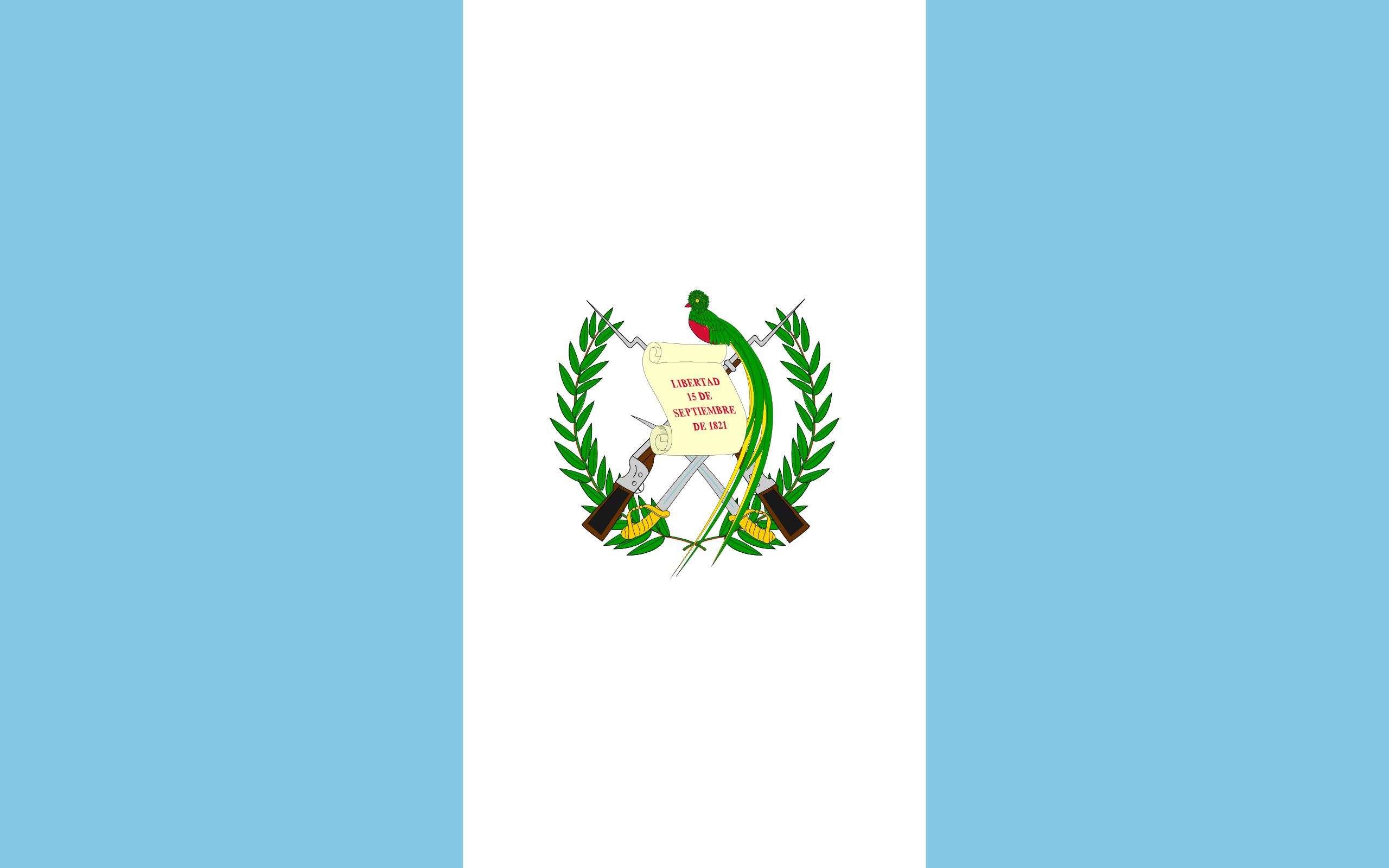 Guatemala, pays, emblème, logo, symbole - Fonds d'écran HD - Professor-falken.com