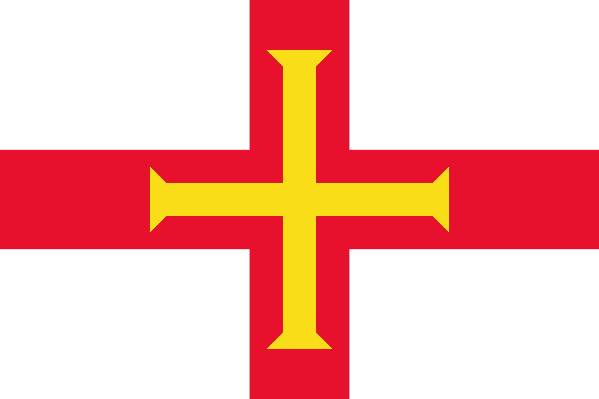 جيرنزي, البلد, emblema, شعار, الرمز - خلفيات عالية الدقة - أستاذ falken.com