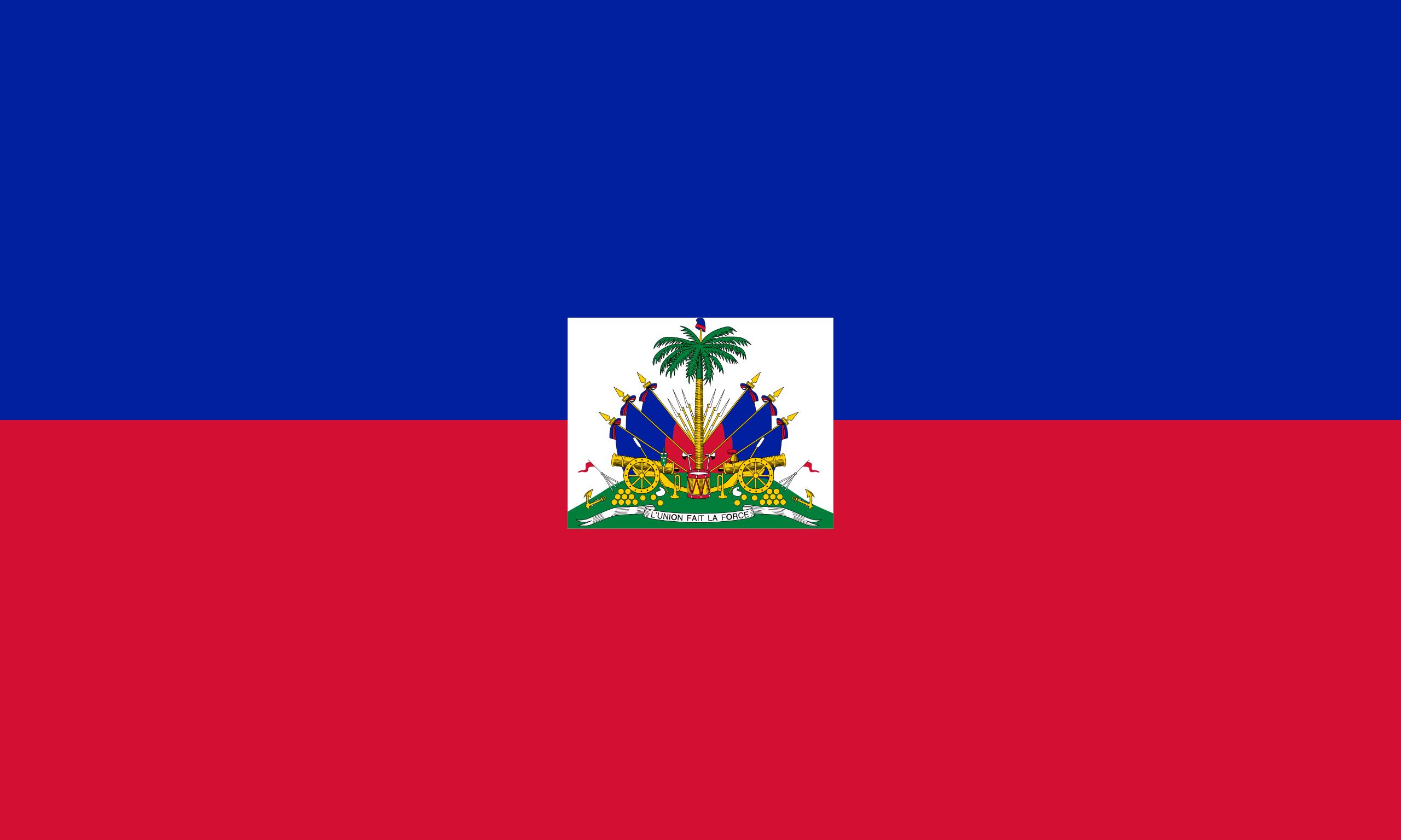 Haïti, pays, emblème, logo, symbole - Fonds d'écran HD - Professor-falken.com