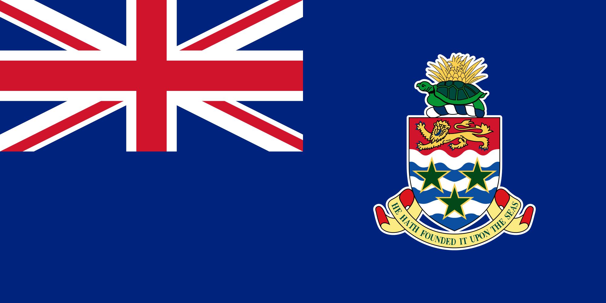 جزر كايمان, البلد, emblema, شعار, الرمز - خلفيات عالية الدقة - أستاذ falken.com