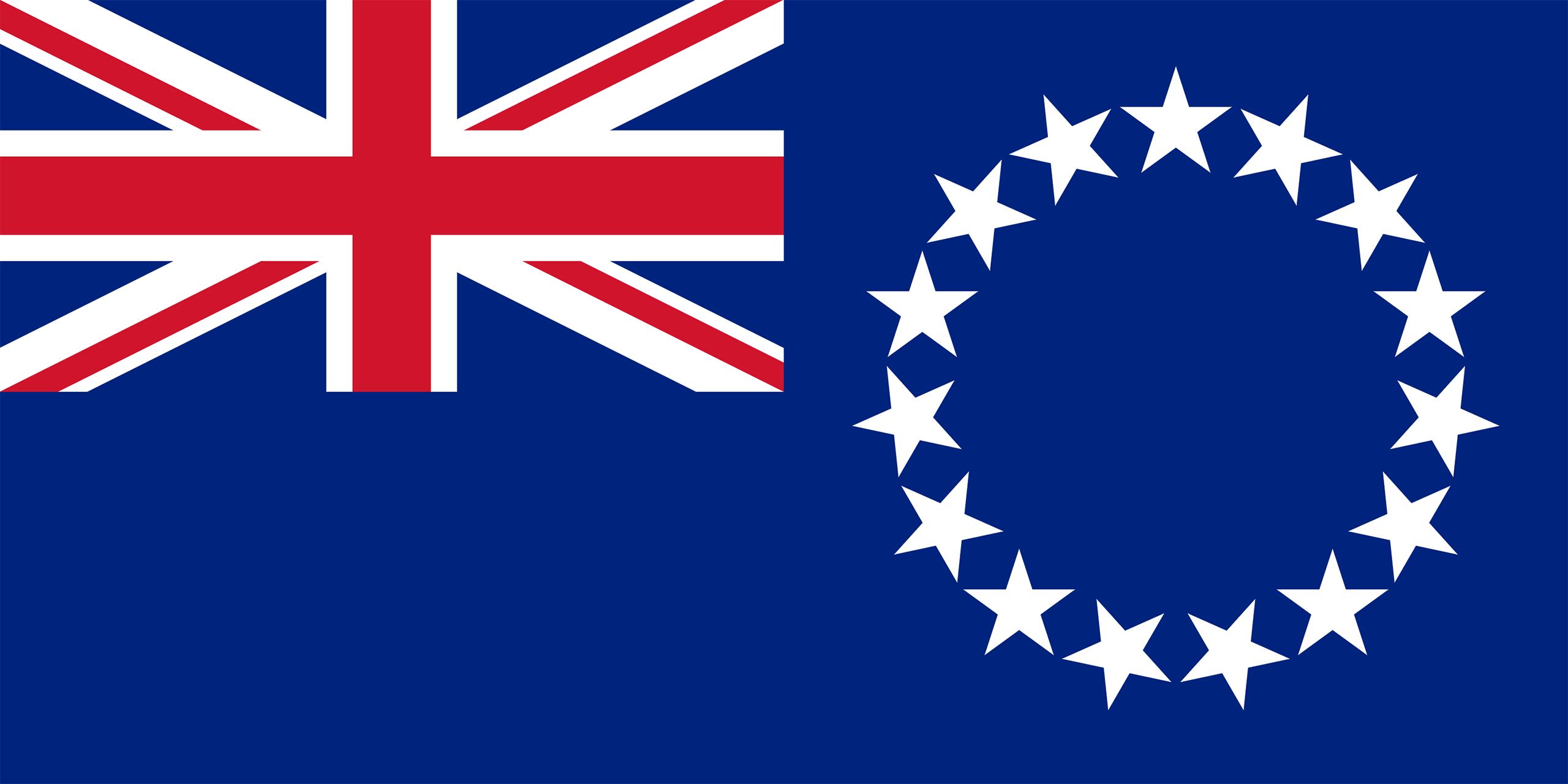 islas cook, país, emblema, insignia, símbolo - Fondos de Pantalla HD - professor-falken.com