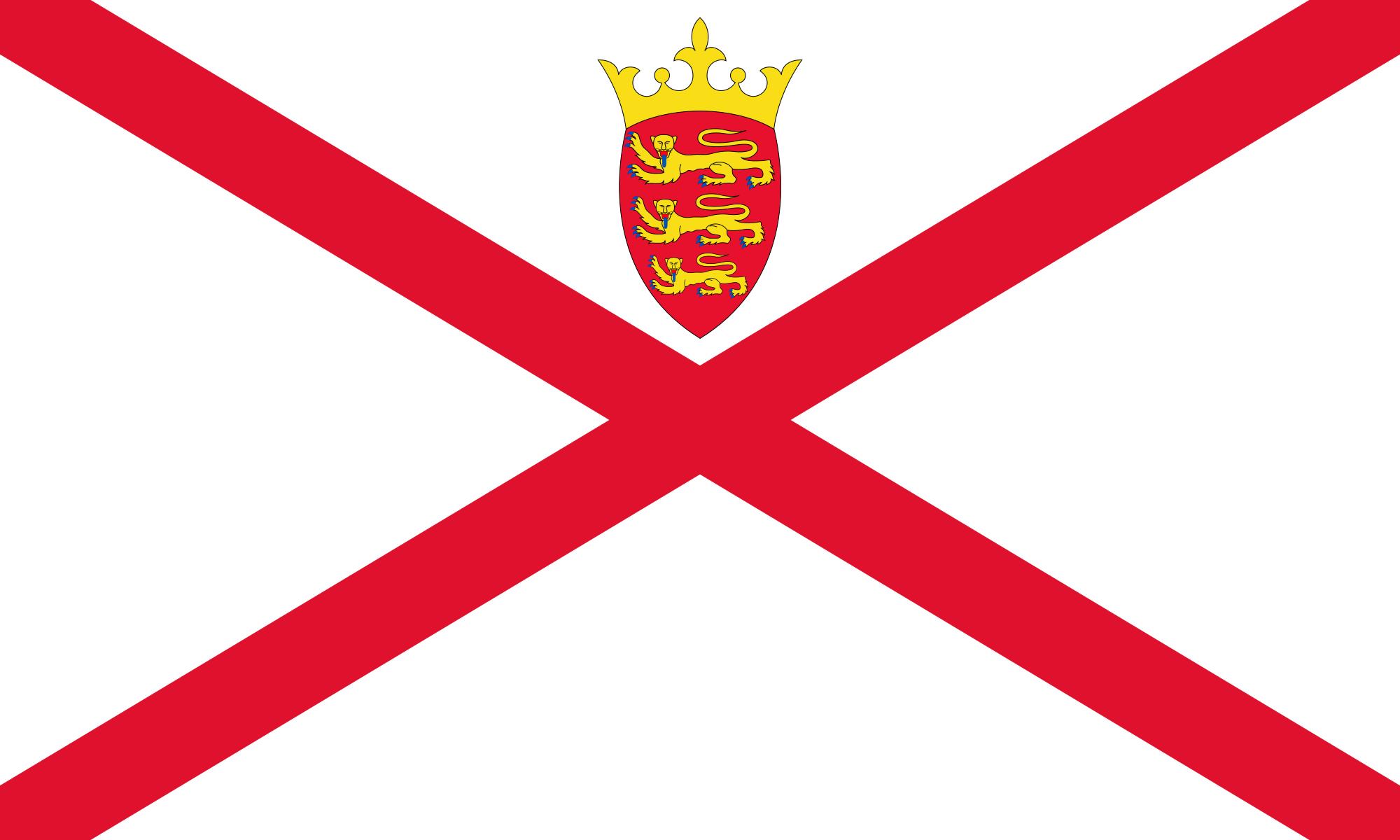 جيرسي, البلد, emblema, شعار, الرمز - خلفيات عالية الدقة - أستاذ falken.com