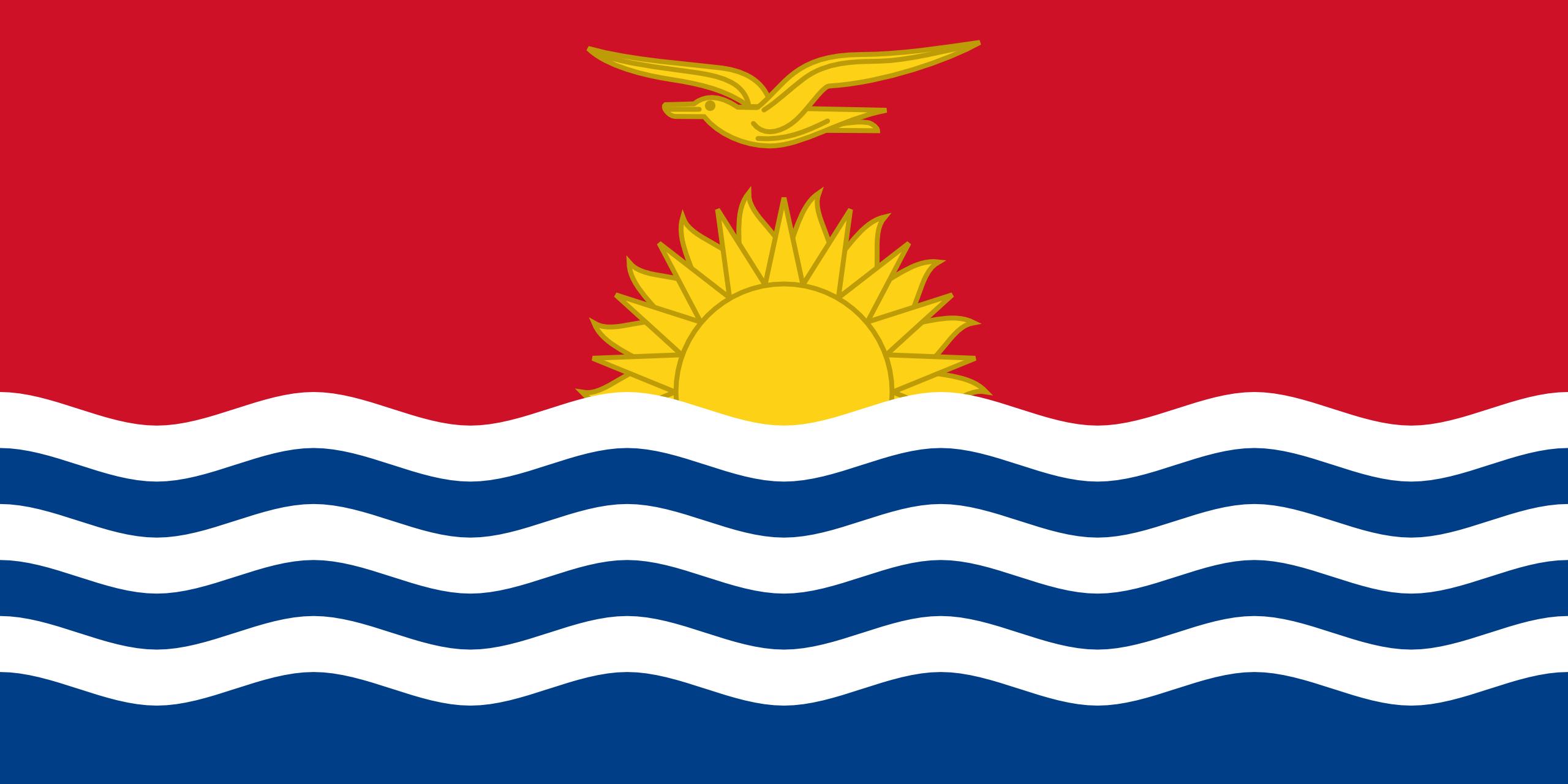 kiribati, país, emblema, insignia, símbolo - Fondos de Pantalla HD - professor-falken.com