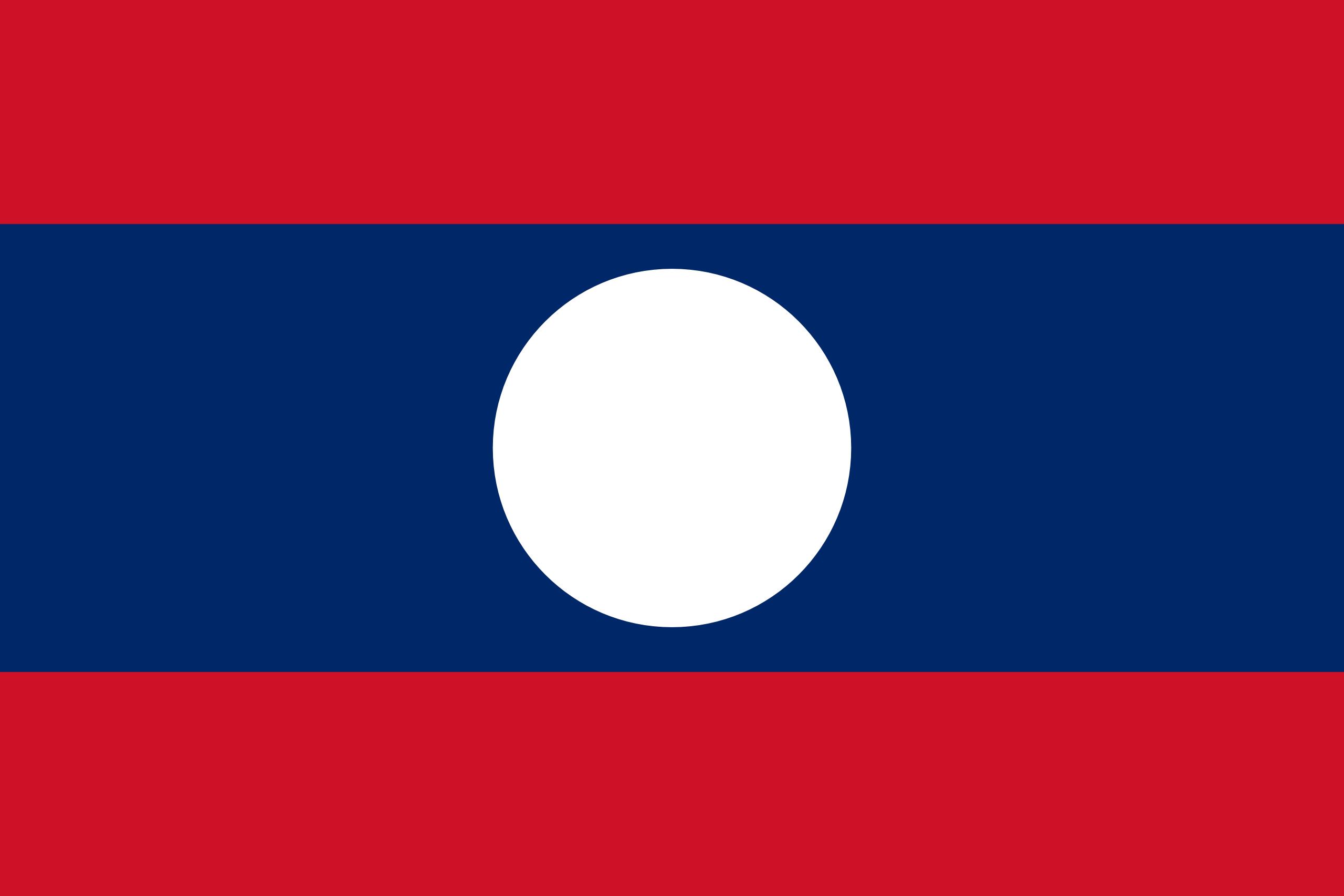 laos, país, emblema, insignia, símbolo - Fondos de Pantalla HD - professor-falken.com