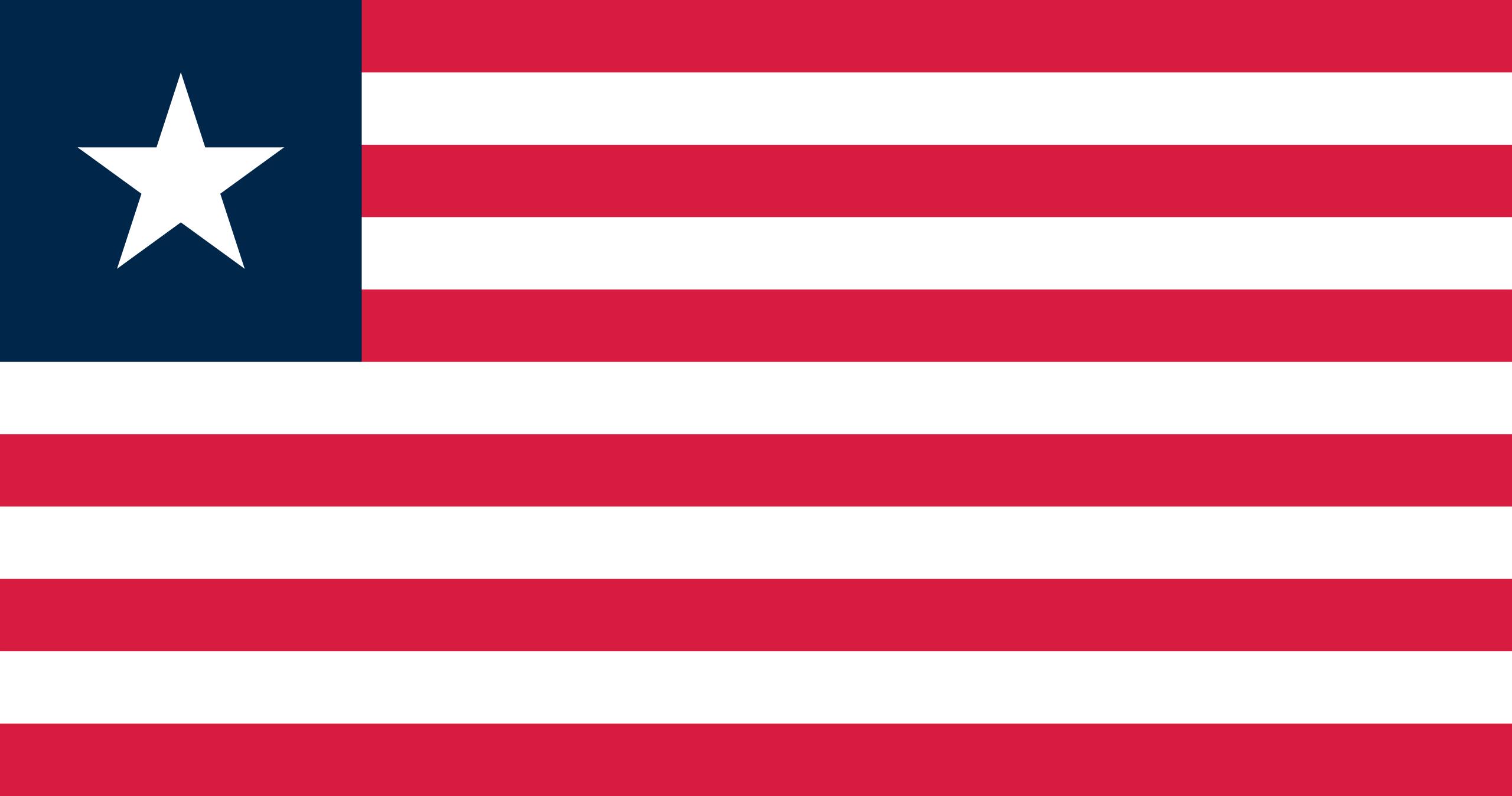 Libéria, pays, emblème, logo, symbole - Fonds d'écran HD - Professor-falken.com