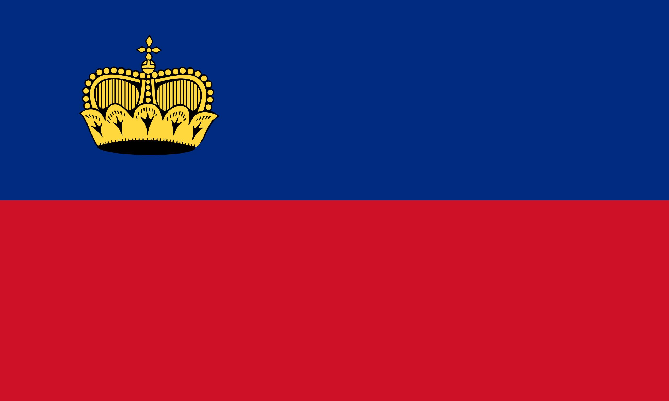Liechtenstein, Land, Emblem, Logo, Symbol - Wallpaper HD - Prof.-falken.com