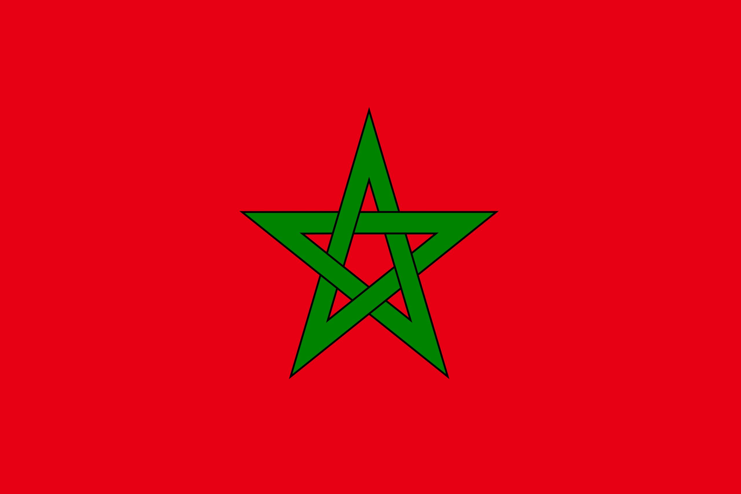 Marokko, Land, Emblem, Logo, Symbol - Wallpaper HD - Prof.-falken.com
