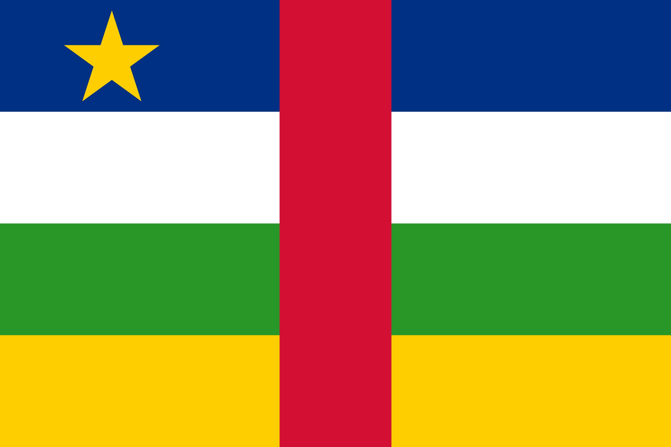 República Centro-Africana, país, Brasão de armas, logotipo, símbolo - Papéis de parede HD - Professor-falken.com