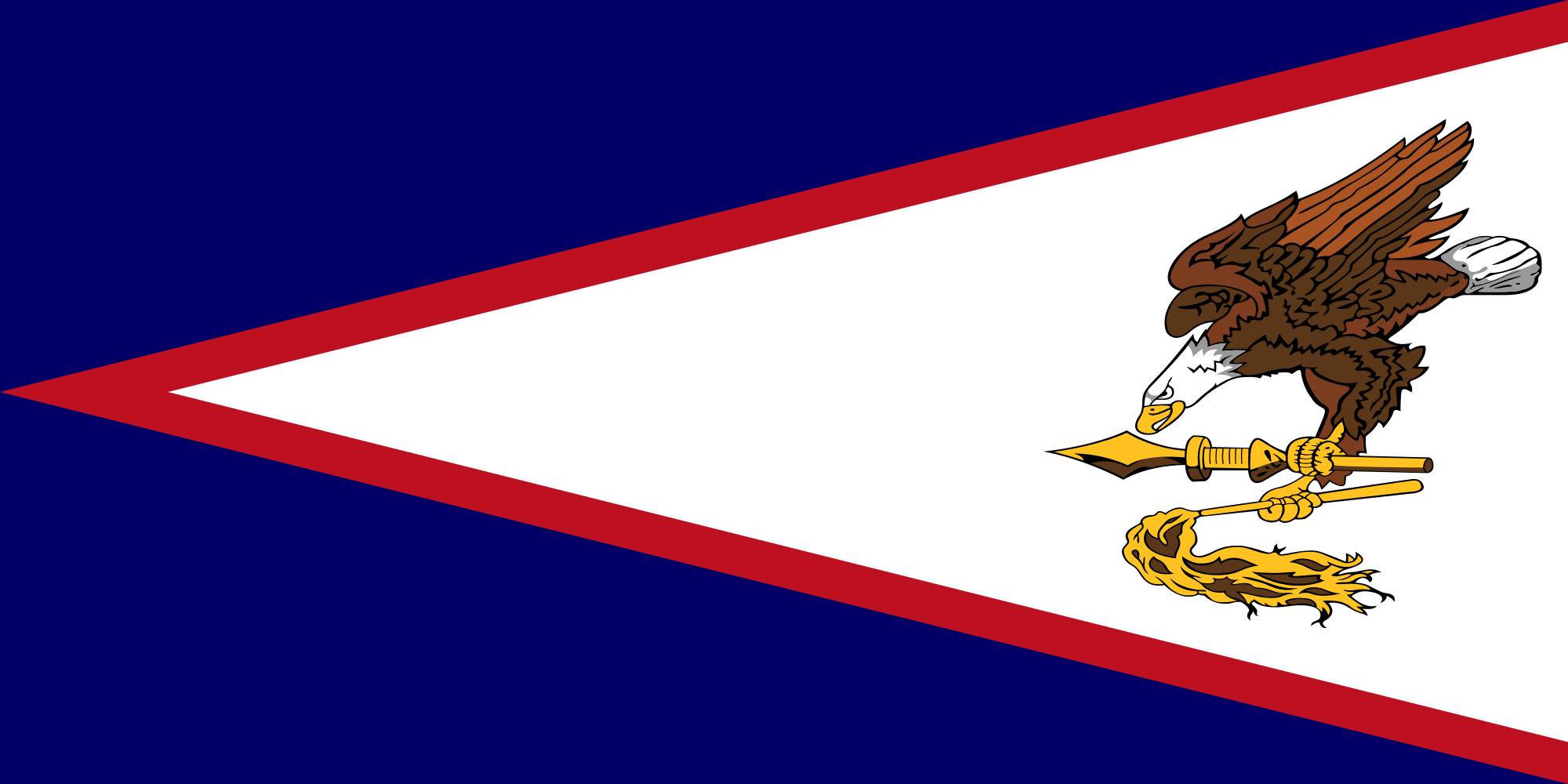 Samoa americane, paese, emblema, logo, simbolo - Sfondi HD - Professor-falken.com