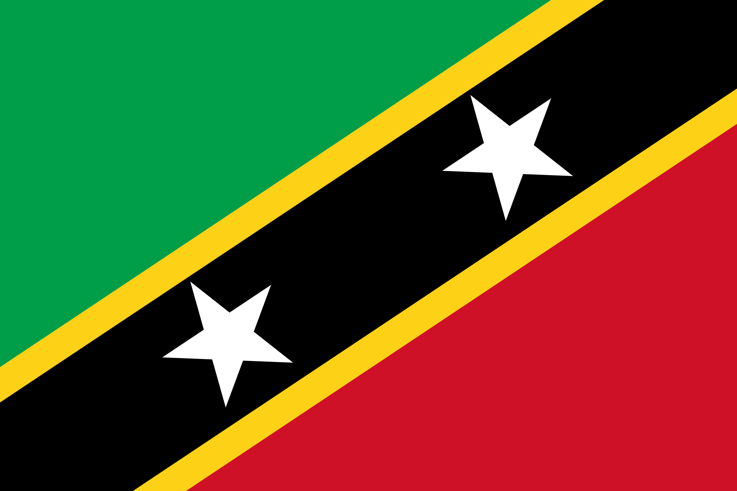 St. Kitts und Nevis, Land, Emblem, Logo, Symbol - Wallpaper HD - Prof.-falken.com