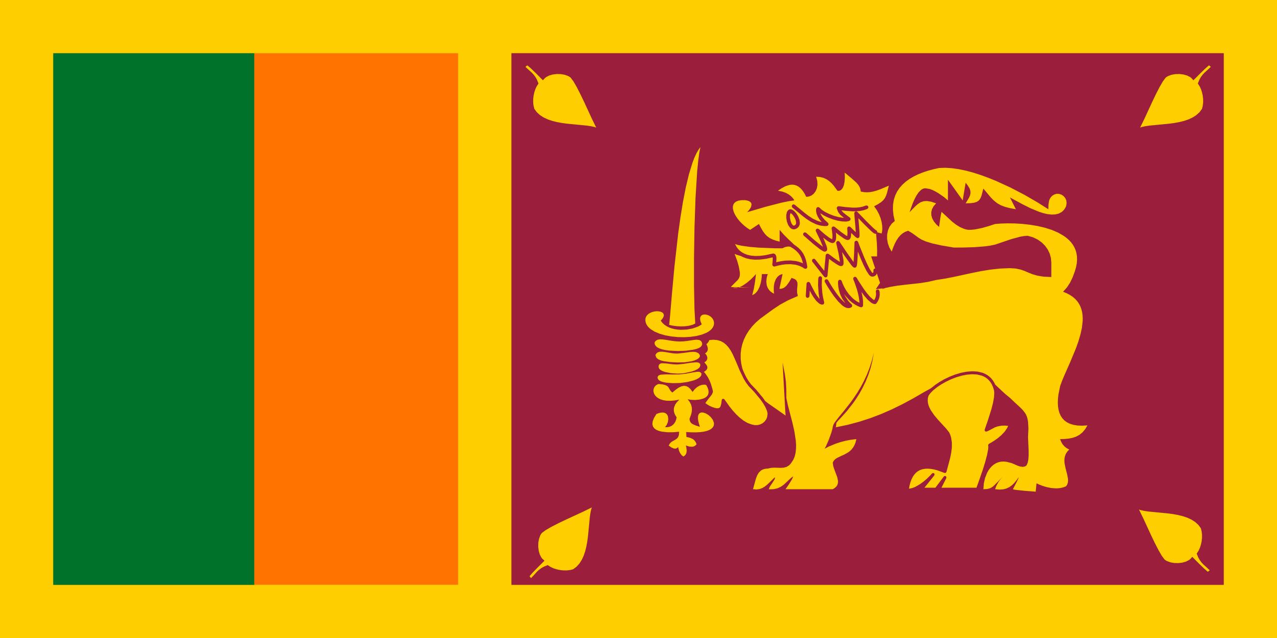 sri lanka, país, emblema, insignia, símbolo - Fondos de Pantalla HD - professor-falken.com