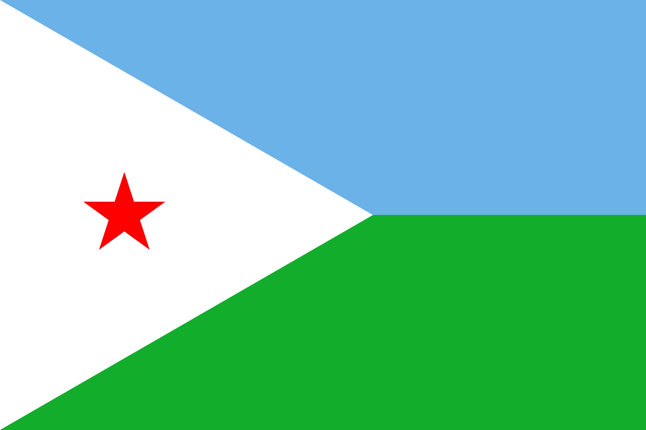yibuti, país, emblema, insignia, símbolo - Fondos de Pantalla HD - professor-falken.com