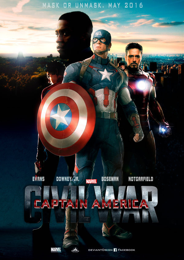 11 Legendäre Wallpapers von Captain America - Bürgerkrieg - Bild 10 - Prof.-falken.com