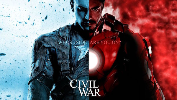 11 Legendäre Wallpapers von Captain America – Bürgerkrieg