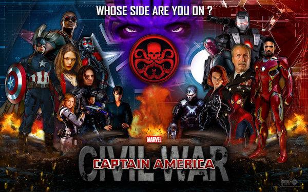 11 Legendäre Wallpapers von Captain America - Bürgerkrieg - Bild 6 - Prof.-falken.com