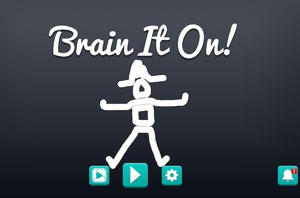 Brain It On!, un verdadero rompecabezas con múltiples soluciones