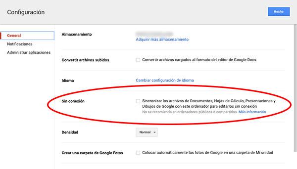 Como habilitar a sincronização de arquivos do Google para editá-los off-line - Imagem 3 - Professor-falken.com