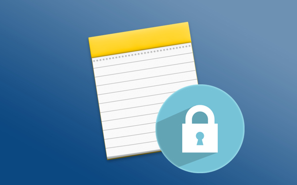 如何对密码锁定您的笔记在 Mac 上